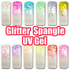 Glitter / Spangle / Confetti / Pearly / Cover Color Nail Art UV Gel Tips 20ml #B