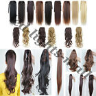 Free Ship Bangs/Ponytail/Clip In On Hair Extensions Blonde/Brown Multiple Styles