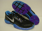 NEW Mens NIKE Lunar Trainer 1 Plus + 598510 004 Black Blue Purple Sneakers Shoes