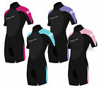 Two Bare Feet SUPAFLEX Womens Shorty Wetsuit - NEW Surf