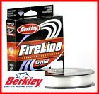 Berkley Crystal FireLine the Super Thin Sensitive  Strong Fishing Superline