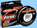 Berkley Crystal FireLine - the Super Thin, Sensitive & Strong Fishing Superline