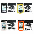 Cell Phone Mobile Waterproof Bag with Strap & Earphones Case Pouch Cover
