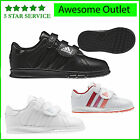 New Adidas Boys Girls Toddlers BTS Classic Velcro Trainers School Shoes Uk Sz