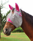 CASHEL CRUSADER FLY MASK STANDARD WITH EARS PINK HORSE TACK