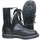 German Leather PILOT BOOTS Size Zip Fur Lined All Sizes - Winter Army Military