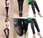 Women Style NEW!Sexy Black Mesh Tights Pants Free Size