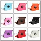 FOR IPAD 2 IPAD 3  WITH SLEEP WAKE PU LEATHER 360° ROTATING Magnetic STAND CASE