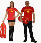 Life Guard Stag Hen Party Couples T shirt Fancy Dress Mens Women Tshirts