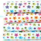 DAISY TIME - DELICATE PASTEL FUNKY FLORAL childrens kids POLY COTTON FABRIC