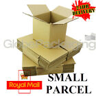 "5"" CUBE S/W CARDBOARD POSTAL BOXES - ROYAL MAIL SMALL PARCEL SIZE - 5x5x5"""