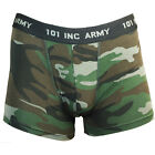 Mens WOODLAND CAMOUFLAGE Hipster Boxer Shorts - All Sizes Camo Underwear Pants