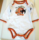 Halloween I'm So Cute it's Scary Long Sleeve Infant Shirt 0-3M 3-6M NWT