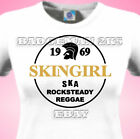 SKINGIRL Skinhead SKA - ROCKSTEADY-SPIRIT Of 69 - Ladies Fitted T-Shirt