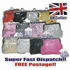 NEW LADIES/GIRLS SPARKLY COIN PURSE KIDS PARTY BAG PRESENT SNAP CLASP