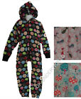 Childrens Girls Boys Summer Cotton Onesie All In One Hooded Jumpsuit 1-6 Years