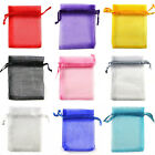 15x36cm / 5.9x14.2 Inch Premium ORGANZA Wedding Favour GIFT BAG POUCHES
