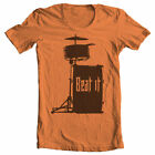 BEAT IT Drummer T Shirt Drum Musician Band Music Many Sizes