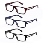 Fashion Clear Lens Glasses Frame Classic Retro Inspired Flat Top Glasses Clear