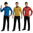 Starfleet Uniforms Adult Star Trek Costume Shirts Fancy Dress on eBay