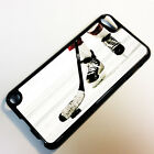 Cover for iPod Touch 5 5th Gen 5G Ice Hockey Puck Stick Blades Helmet Case =8011