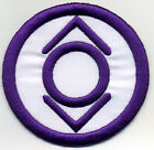 """2.5"""" Indigo Tribe Lantern Corps Classic Style Embroidered Patch"""
