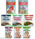 NPW TEMPORARY TATTOOS for Fingers and Hands - Super Heroes Princess Monster Dino