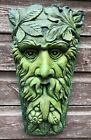 Harvest green man decorative wall plaque Keystone home or garden ornament 38cmH