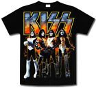 KISS * GROUP - ALLOVER * SHIRT * NEU * M / L / XL / XXL * USA *