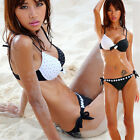 New Women Sexy Bikini Push Up Swimsuit Set Padded Beach Bathing Swimwear