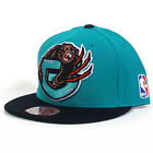 VANCOUVER GRIZZLIES Mitchell & Ness G021 XL Vintage Logo 2 Tone Fitted Hat