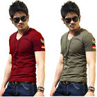 Men Short Sleeve T-Shirts Tee Compression Size Man Top Slim Fit Casual Tee Shirt