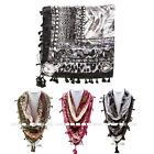1 NEW WOMEN MIXED ANIMAL AND ORIENTAL PRINT SQUARE LADY SCARF WRAP