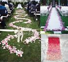500pcs Silk Flowers Rose Petals Floating Wedding Party Decoration Favours NEW