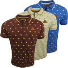 Mens Polo Shirt Rock & Revival Polo's Short Sleeve 'Bird' Design S M L XL