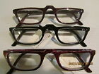 3 pair READING GLASSES MENS TRADITIONAL smart timless styling Quality readers