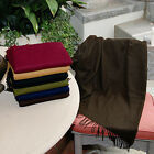 Durable 50 x 70 Cashmere-like Blanket Throw Assorted Colors image