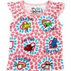 "Dr. Seuss Girl's ""One Fish Two Fish"" Pink Short Sleeve Shirt- Sizes 12M-4T"