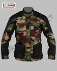 Black & Green Camo CE Armoured Waterproof Motorcycle / Motorbike Textile Jacket