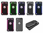 For iPod Touch 5 5G Hybrid Hard Cover Impact Silicone Case
