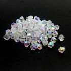 Free Ship 600PC Crystal 4mm 5301 Bicone FK12@