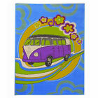 Retro Funky Road Trip Camper Van Flair Rugs Multi Luxury Soft VW Floor Rug