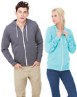 Unisex Sweatshirt-Bella Canvas Zip-Up Hoodie, Metal Zipper Sweatshirt