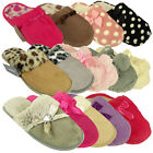 Womens Furry Warm Mule Slipper Ladies Mules Slippers Sizes UK 3 4 5 6 7 8 New