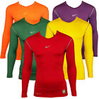 Mens Nike Pro Combat Compression Sport Training Long Sleeve Top Baselayer Tee XL