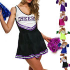 Robe debardeur Pom pom girl cheer leaders 5 couleurs costume deguisement