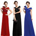 Free Shipping Asymmetrical Long Evening Bridesmaid Dress Party Prom Gown 09464