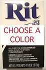 1 new box RIT DYE All Purpose Concentrated POWDER fabric color tint CHOOSE COLOR