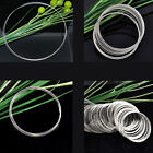 Memory Hot Beading Wire  Bracelets/Necklaces Silver Tone M1407