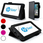 Stand Folio Wallet Leather Case Cover For HP SLATE7 Slate 7+ Screen Protector